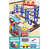 小火车套装轨道 仿真电动和谐号高铁儿童玩具车男孩3周岁