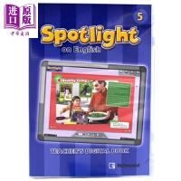 【中商原版】【美国小学学科英语】美国小学英语五年级电子书 英文原版 SPOTLIGHT ON ENGLISH 5 DIG