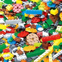 儿童积木1000颗粒DIY拼装基础积木小颗粒6周岁男