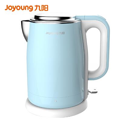 九阳(Joyoung) 电水壶烧水壶自动断电食品级304不锈钢开水煲1.7升K17-F5 双层杯体无缝内胆