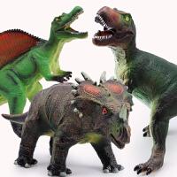 仿真大号恐龙玩具模型霸王龙暴龙儿童男孩动物套装