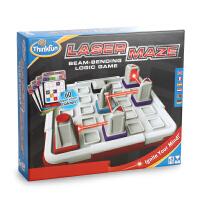 美国thinkfun儿童智力玩具镭射迷宫3D立体激光迷宫逻辑游戏8岁+