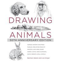 【预订】Drawing Animals: 30th Anniversary Edition