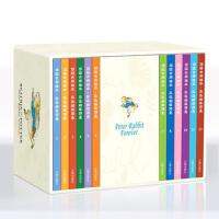 全套12册套装幼儿童故事绘本永远的彼得兔迷你精装收藏版MINI小口袋本连环画袖珍本彼得兔的故事全集0-3-6故事绘本彩