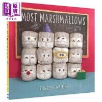 【中商原版】精品绘本 Rowboat Watkins 好多好多棉花糖 Most Marshmallows 英文原版
