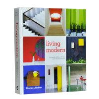 【预订】Living Modern 现代生活 开放的休息室,厨房和餐间 室内设计书籍
