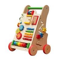 宝宝学步车手推车婴儿童音乐玩具6-18个月防侧翻可调速助步车1岁