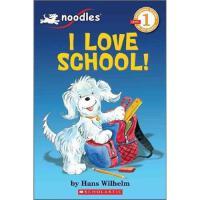 学乐小面条系列我爱学校1级读本NOODLES: I LOVE SCHOOL进口原版6-8-10-12岁少儿童文学睡前故