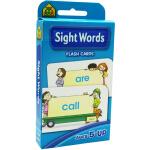 【常见词】School Zone Flash Cards Beginning Sight Words 英文原版 儿童早