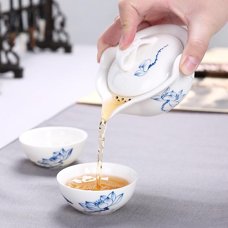 陶瓷盖碗大号泡茶杯茶壶功夫茶具三才普洱泡茶碗