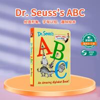 【全店300减110】【88选5】英文原版 Dr. Seuss's ABC 低幼适龄版苏斯博士 儿童学习字母纸板书 幼儿