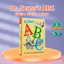 学校推荐书单 英文原版 Dr. Seuss's ABC 苏斯博士 儿童学习字母纸板书 幼儿英语启蒙 幼儿启蒙认知读物 亲子阅读0-3-6岁