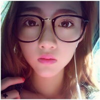 韩版复古潮圆脸眼镜框女大框百搭男士平光镜架可配防辐射近视眼镜