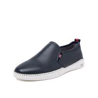 星期六男鞋(ST&SAT)19年专柜同款牛皮革舒适商务休闲鞋SS91129802