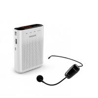 飞利浦 SBM230 小扩音器教师专用UHF无线话筒导游耳麦蜜蜂讲课喇叭音箱户外腰挂便携式手持扬声器插卡