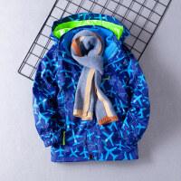 冬季�和��_�h衣男三合一男童可拆卸外套加�q加厚�杉�套秋�b2018新款秋冬新款