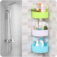 三角强力吸盘浴室置物架卫生间壁挂浴室角架洗手间厕所置物收纳架