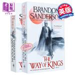 【中商原版】飓光志 :王者之路(上、下部)两册套装 英文原版The Way of Kings 布兰登桑德森