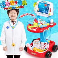 儿童医生玩具套装打针听诊器护士医疗过家家医院小推车女孩宝宝