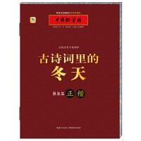 中国好字帖 边读边写古典精粹 吴玉生正楷 古诗词里的冬天
