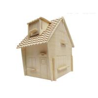 小朋友3d立体拼图木质房子小学生玩具批发儿童女孩拼装模型屋 迷你