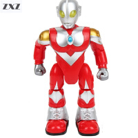 奥特曼玩具儿童电动机器人声光会走路的咸蛋超人泰罗赛文