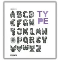 BASIC TYPE 英文字体设计 平面广告字体设计书籍