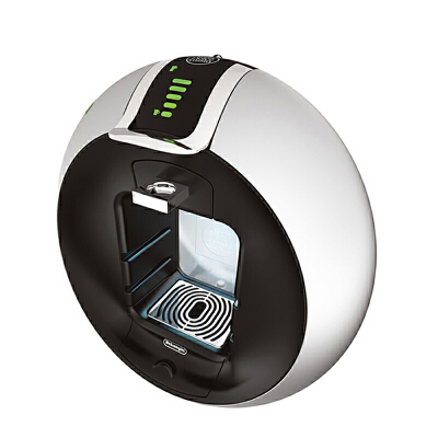 Delonghi/德龙 EDG606DOLCEGUSTO雀巢胶囊咖啡机意式全自动(银色) 意式全自动摩登圆弧造型,操作简单