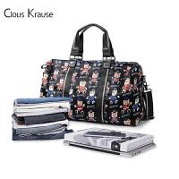 【1件3折,到手价:191.4元】Clous Krause 新款女士手提旅游包 CK女包 欧美款大容量简约时尚旅行斜挎