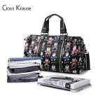 Clous Krause 新款女士手提旅游包 CK女包 欧美款大容量简约时尚旅行斜挎包旅行袋