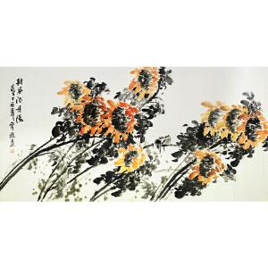 常进《披风欲丹阳》广州美院 有作者本人授权 身残志坚 励志典范