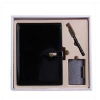 商务 礼盒套装 创意办公 记事本活页本 中性笔名片盒 套装