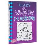 【中商原版】小屁孩日记13 美版精装 英文原版 Diary of a Wimpy Kid#13 The Meltdow