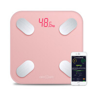 可充电智能体脂秤电子称体重秤家用人体秤成人减肥称重测脂肪