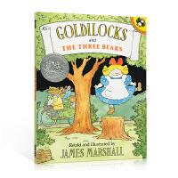 英文原版进口 Goldilocks and the Three Bears 金发姑娘和三只小熊 凯迪克银奖 吴敏兰绘本