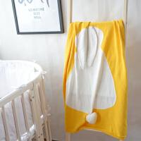 婴儿毯儿童午睡毯宝宝 男女童针织毯萌萌兔子空调毛线毯子