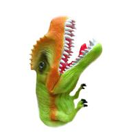 儿童仿真动物模型侏罗纪恐龙手偶手套软胶嘴巴能动过家家玩具 A1