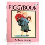 【顺丰速运】英文原版 Anthony Browne Piggybook 朱家故事 吴敏兰荐幼儿童英语启蒙阅读教材绘本