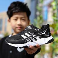童鞋男童春秋季新款2017韩版百搭女童网鞋运动鞋儿童休闲鞋子
