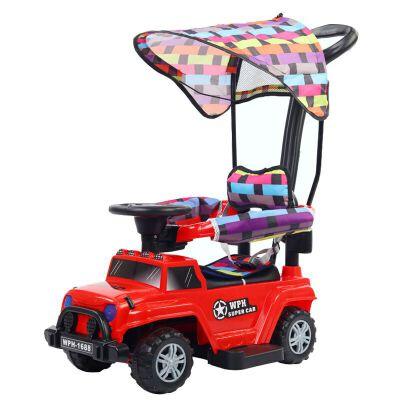 儿童扭扭车溜溜车1-3岁妞妞万向轮男宝宝滑滑车子女孩玩具摇摆车 豪华