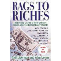 【预订】Rags to Riches: Motivating Stories of How Ordinary Y9781