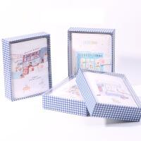 创意韩国文具小清新基础手账套装 礼盒装手账本 活页笔记本子