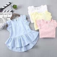 儿童连衣裙女童裙子新款宝宝洋气夏装女孩背心裙童装