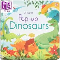 【中商原版】尤斯伯恩立体绘本:恐龙 Usborne pop-up:Dinosaurs 立体书 Usborne 恐龙 低