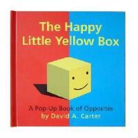 英文原版 The Happy Little Yellow Box: A Pop-Up Book of Opposites