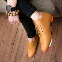 DAZED CONFUSED 潮牌英伦风潮流男鞋韩版男士休闲鞋豆豆鞋青年百搭潮鞋小皮鞋
