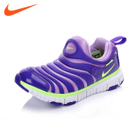 NIKE/耐克童鞋新款耐克毛毛虫童鞋儿童运动鞋男女桶跑步鞋NIKE DYNAMO FREE(PS) 343738 50