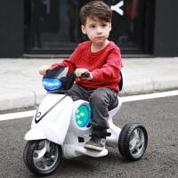 三轮车小牛玩具车儿童可坐人男孩充电动摩托车1-3岁