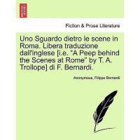 【�A�】Uno Sguardo Dietro Le Scene in Roma. Libera
