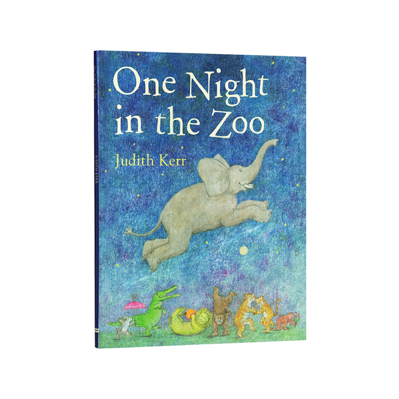 One Night in the Zoo 动物园奇妙夜 英文原版绘本 名家Judith Kerr 亲子睡前故事绘本 常青藤爸爸